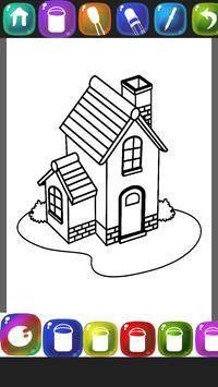 Sweet Home Coloring Book apk screenshot