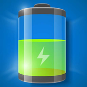 Super cool battery saver icon