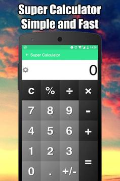 Super Calculator Pro 2018 apk screenshot