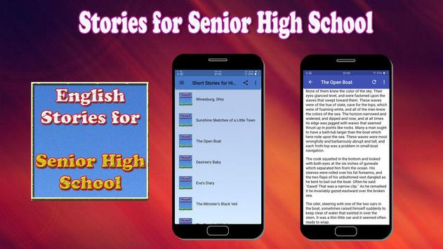 Stories for Senior High School apk screenshot