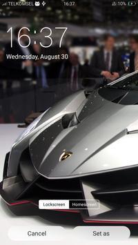 Supercar Wallpaper HD - Lamborghini Veneno screenshot 3