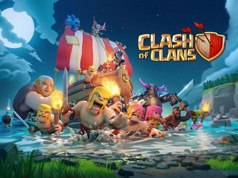 Clash of Clans الملصق