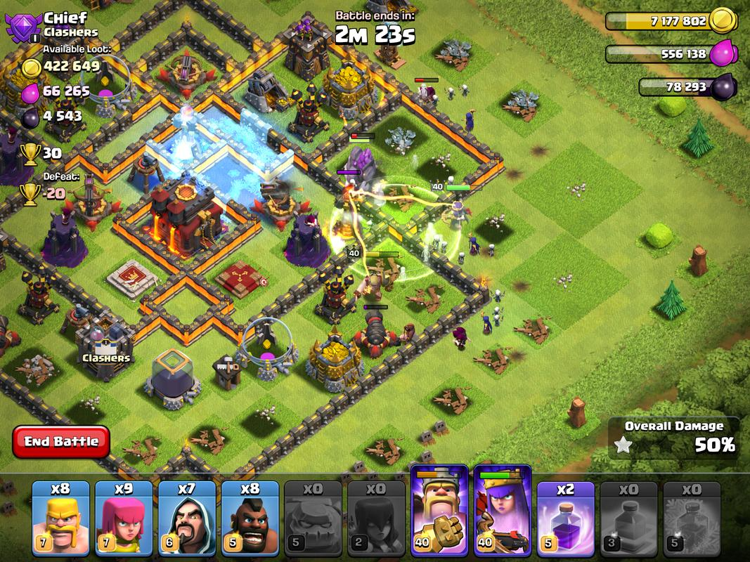 clash of clans how to keep data