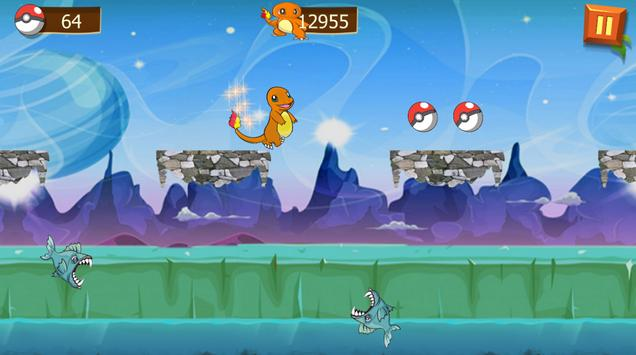 super charmander adventure apk screenshot