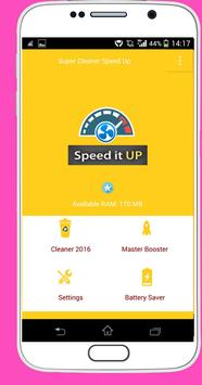 Super Cleaner Speed Up poster