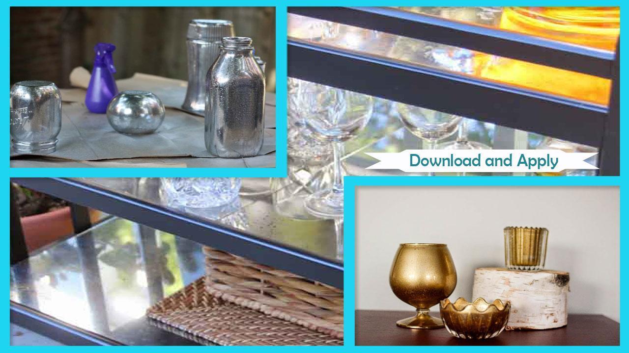 New Mercury Glass Holders Tutorials poster