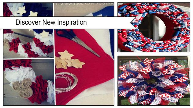 Easy DIY Independence Day Wreaths screenshot 1