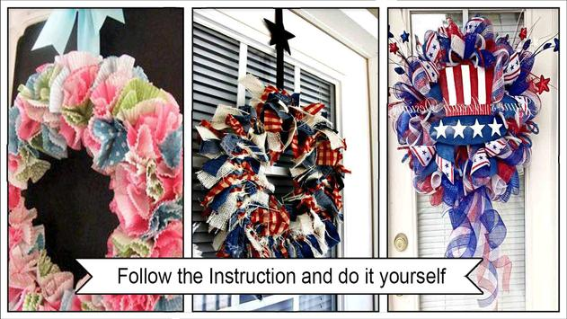 Easy DIY Independence Day Wreaths screenshot 2