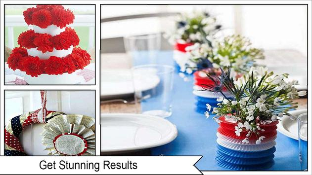 Easy DIY Independence Day Wreaths screenshot 3
