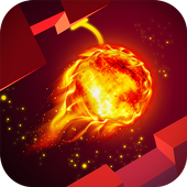 Fire Ride Ball - Ride the Cave icon