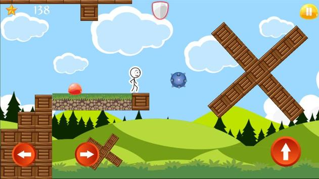 Super Adventure of Stickman apk screenshot