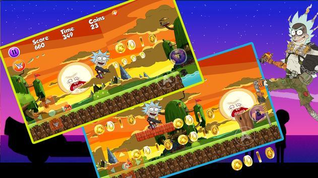 Rick Adventure :with Morty 2 screenshot 2