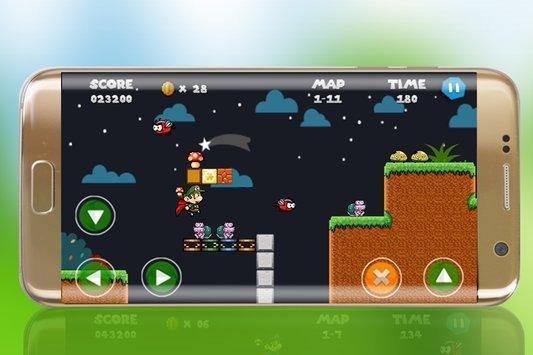 Jungle World of Maryo Run apk screenshot
