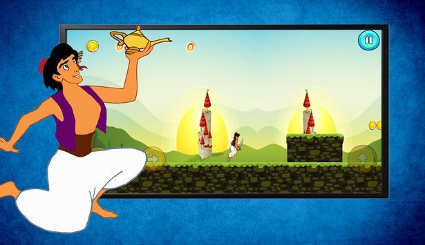 Super Aladin Prince Adventure Game screenshot 1