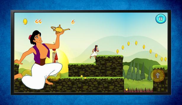 Super Aladin Prince Adventure Game screenshot 2