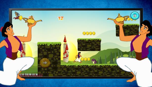 Super Aladin Prince Adventure Game screenshot 4