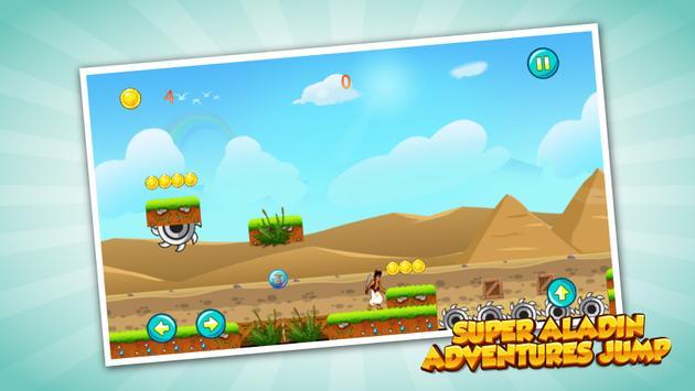Super Aladin Adventures jump 2 poster