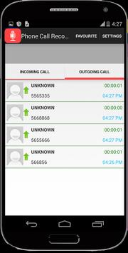 Call Recorder Auto Rec screenshot 2