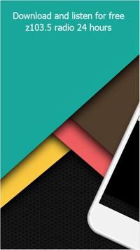Z103.5 radio app free poster