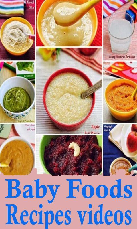 Baby food recipes videos for android apk download baby food recipes videos poster forumfinder Image collections