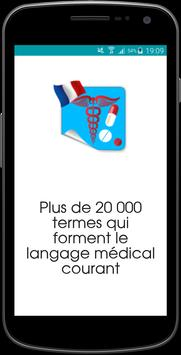 Dictionnaire medical poster