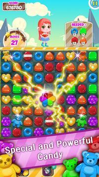 Sweet POP Mania : Match 3 Puzzle captura de pantalla de la apk