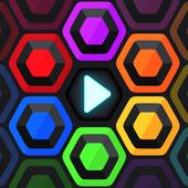 Hexa Star Link - Puzzle Game ikon