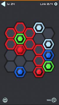 Hexa Star Link - Puzzle Game syot layar 16