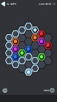 Hexa Star Link - Puzzle Game syot layar 2