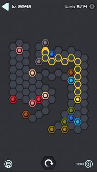 Hexa Star Link - Puzzle Game syot layar 4