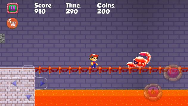 super boy Warrior Monsters screenshot 3