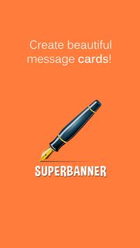 SuperBanner - Text Banners poster