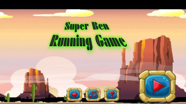 Super Ben Running Game poster