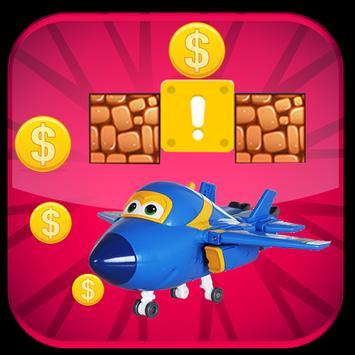 Super Blue Wings Fly Adventure apk screenshot