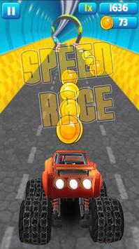 Blaze Speed Race Game poster