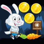Rabbit run adventure icon