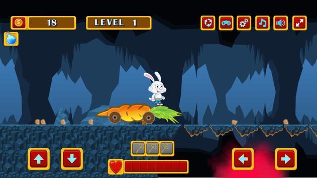 Rabbit run adventure screenshot 13