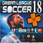 NEW PPSSPP; Dream League Soccer Guide 2018 icon