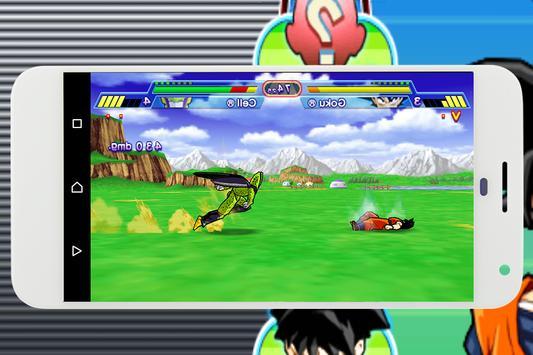 Super Goku Fusion Reborn apk screenshot