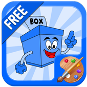 Box Coloring Game icon