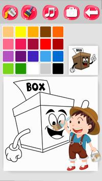 Box Coloring Game screenshot 14