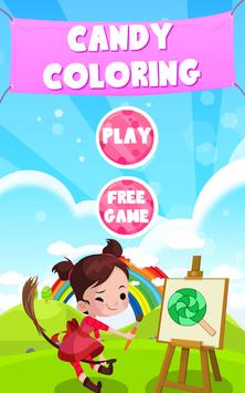 Candy Coloring poster