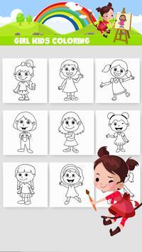 Girl Coloring Game screenshot 11