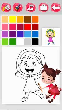 Girl Coloring Game screenshot 4