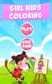 Girl Coloring Game screenshot 5
