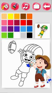 Sports Coloring screenshot 4