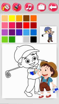 Sports Coloring screenshot 3