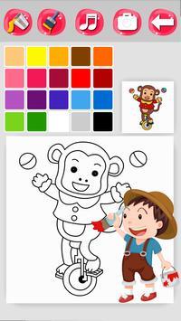 Zoo Coloring Game screenshot 4