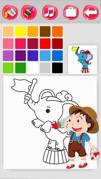 Zoo Coloring Game screenshot 3