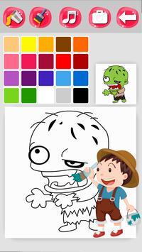Zombie Coloring Game screenshot 13